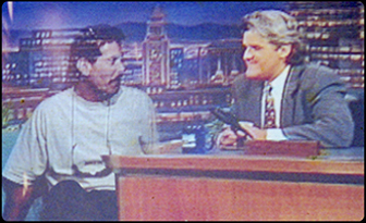 Michael Delees on the Jay Leno show
